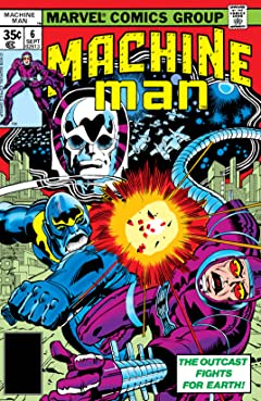 Machine Man (1978-1981) #6
