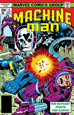 Machine Man (1978-1981) #6