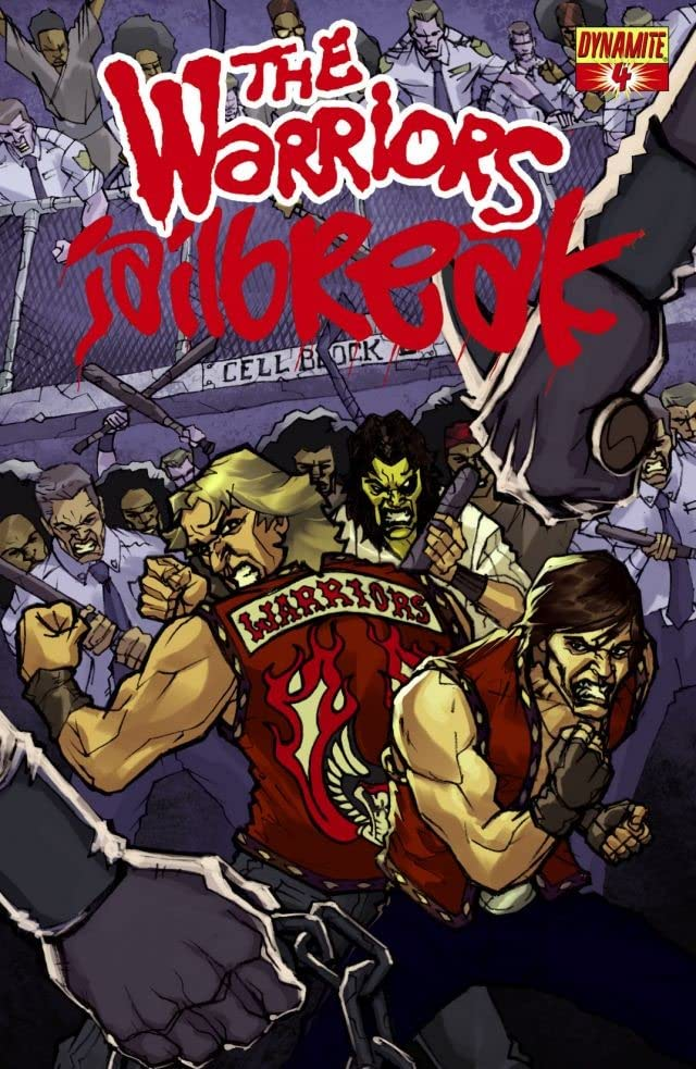 The Warriors: Jailbreak #4