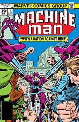Machine Man (1978-1981) #7