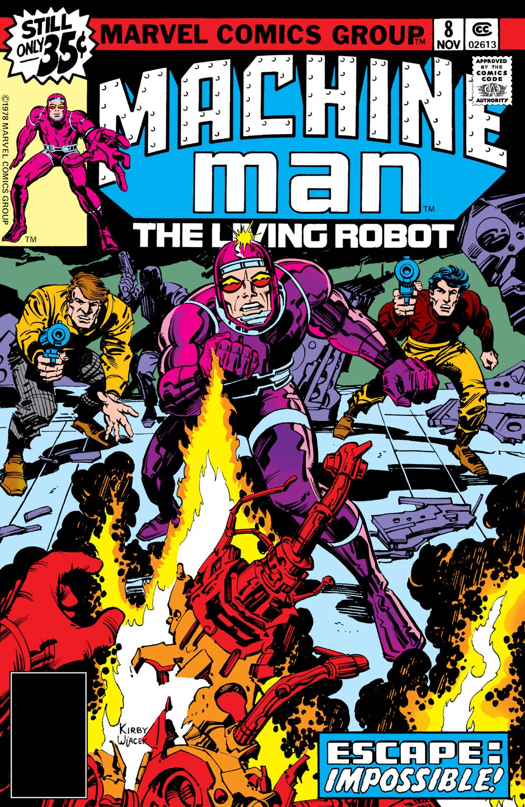 Machine Man (1978-1981) #8