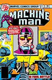 Machine Man (1978-1981) #9