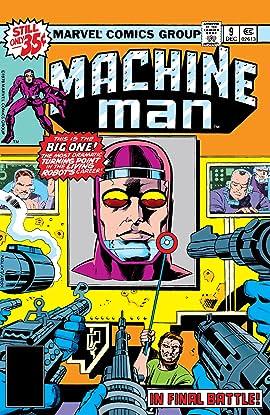 Machine Man (1978-1981) #9