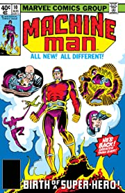 Machine Man (1978-1981) #10