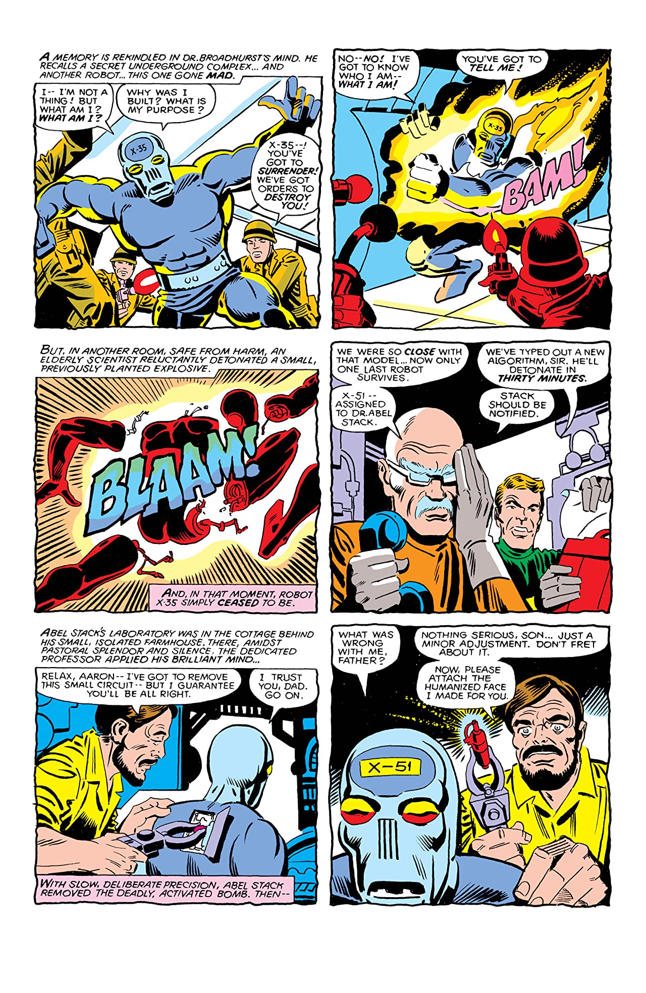 Machine Man (1978-1981) #10
