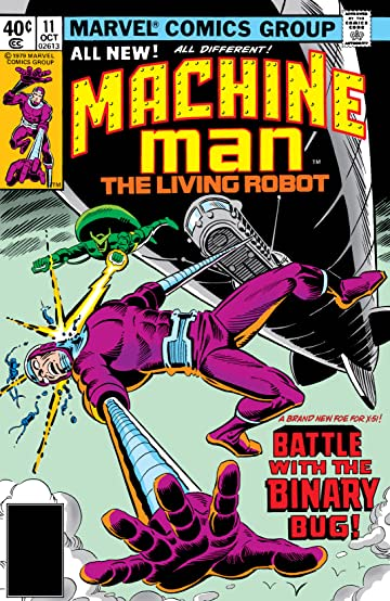 Machine Man (1978-1981) #11