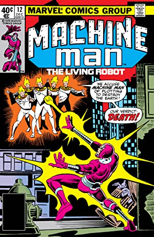 Machine Man (1978-1981) #12