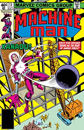 Machine Man (1978-1981) #13