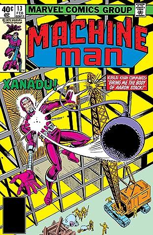 Machine Man (1978-1981) #13