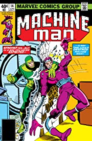 Machine Man (1978-1981) #14