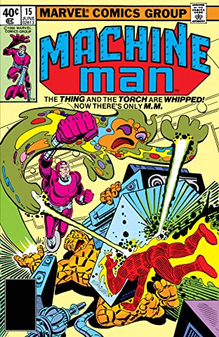Machine Man (1978-1981) #15