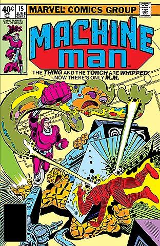 Machine Man (1978-1981) #15
