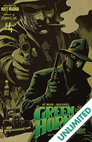 Green Hornet: Year One #4