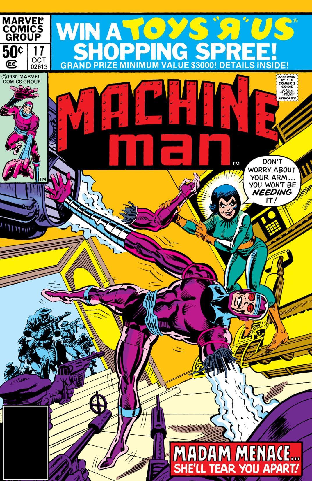 Machine Man (1978-1981) #17