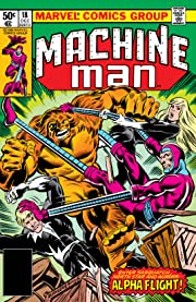 Machine Man (1978-1981) #18
