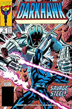 Darkhawk (1991-1995) #4