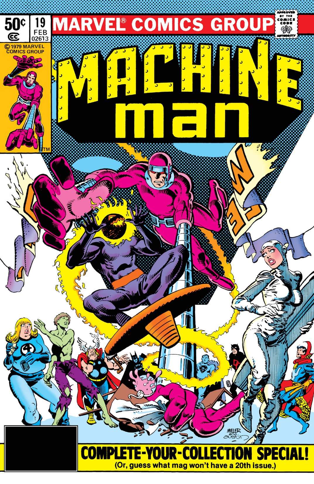 Machine Man (1978-1981) #19