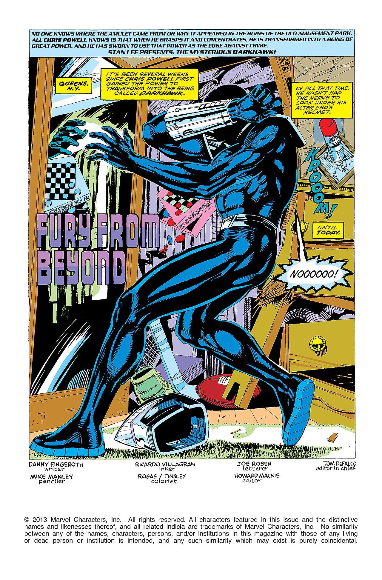 Darkhawk (1991-1995) #5