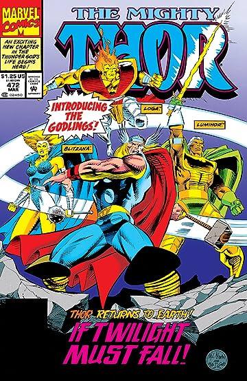 Thor (1966-1996) #472