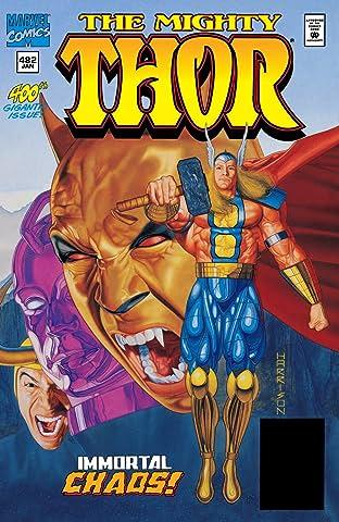 Thor (1966-1996) #482