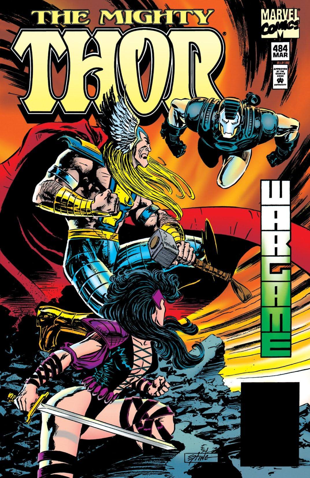 Thor (1966-1996) #484