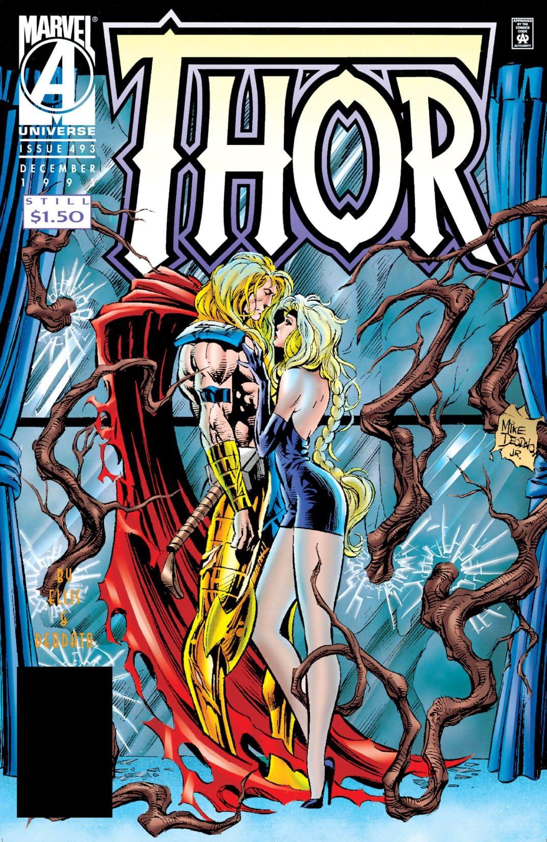 Thor (1966-1996) #493