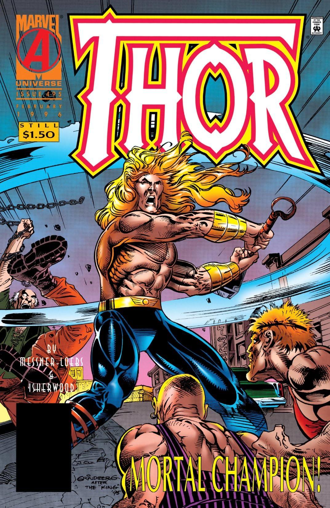 Thor (1966-1996) #495