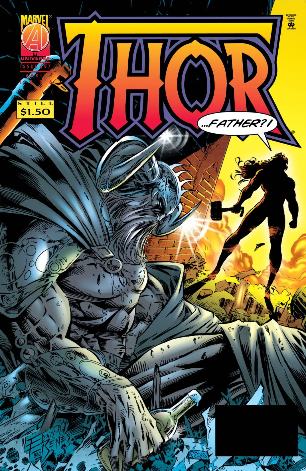 Thor (1966-1996) #497