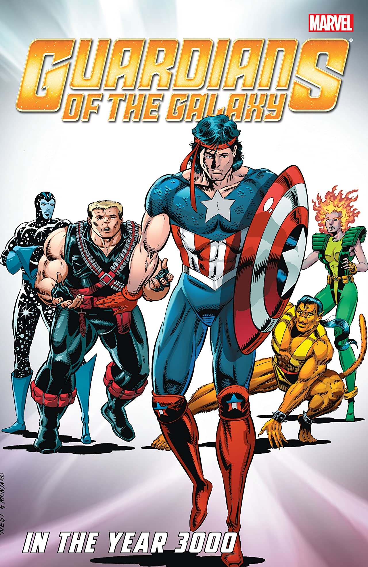 Guardians of the Galaxy Classic: In The Year 3000 Vol. 1