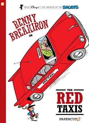 Benny Breakiron Tome 1: The Red Taxis Preview