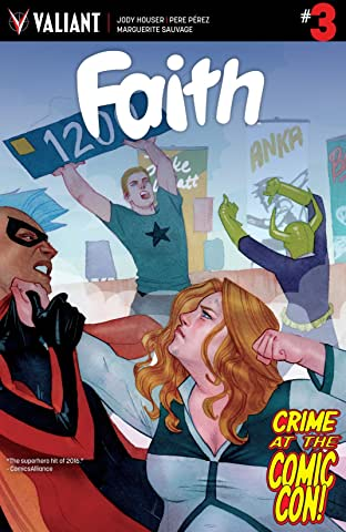 Faith (2016) #3: Digital Exclusives Edition