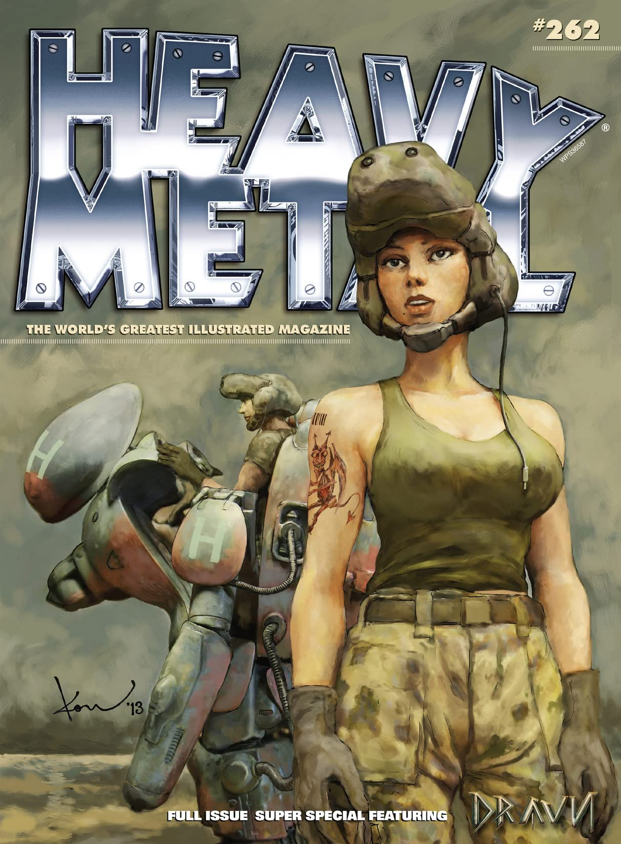 Heavy Metal #262