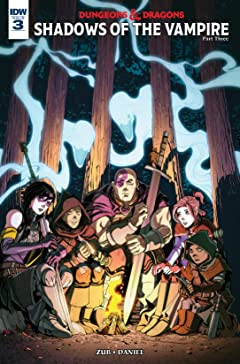 Dungeons & Dragons: Shadows of the Vampire #3