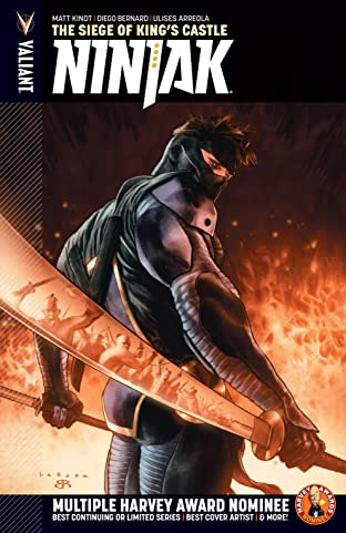Ninjak (2015- ) Vol. 4: The Siege of King's Castle