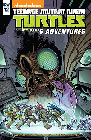 Teenage Mutant Ninja Turtles: Amazing Adventures No.12