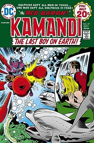 Kamandi: The Last Boy on Earth (1971-1978) #22