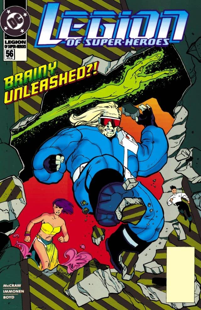 Legion of Super-Heroes (1989-2000) #56