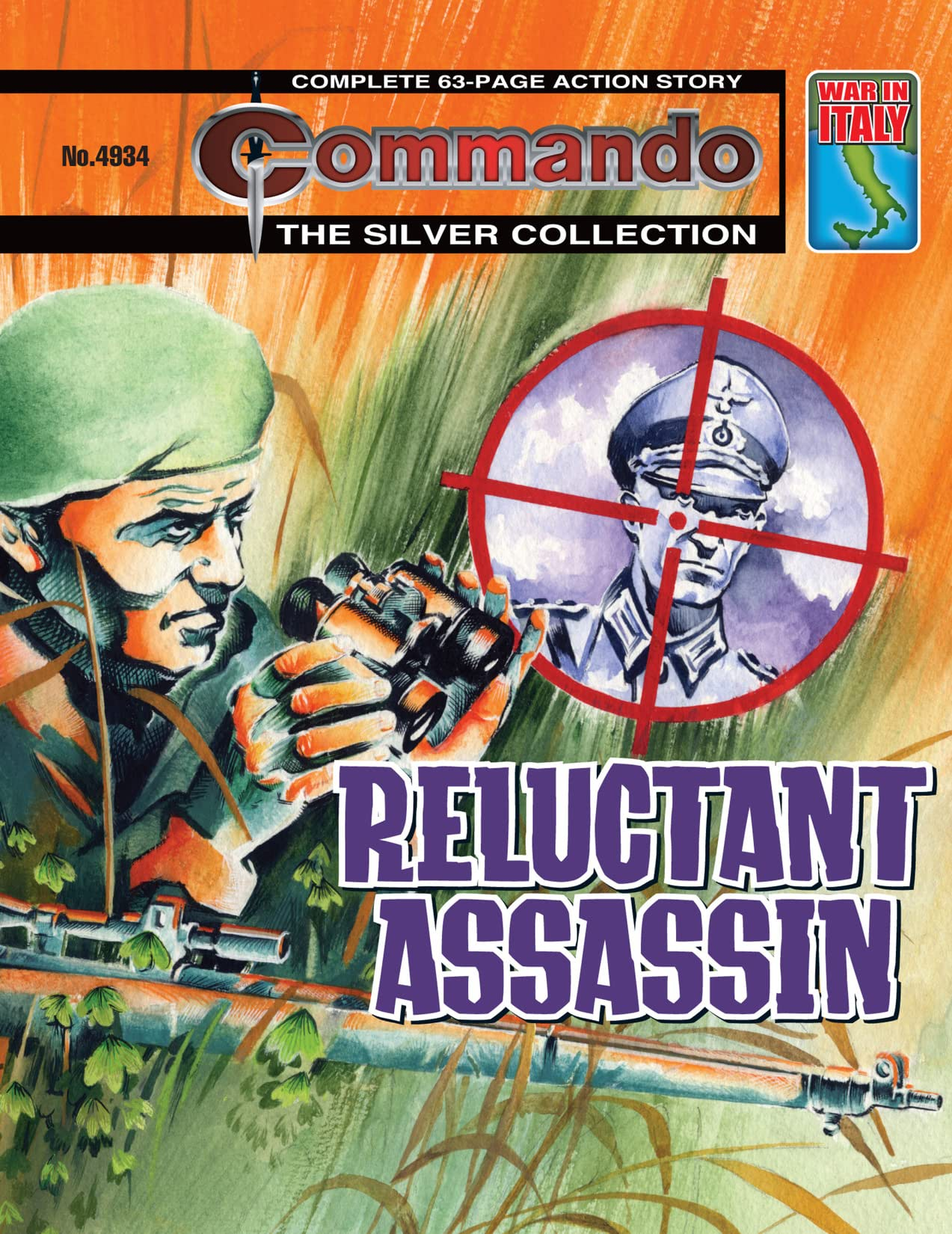 Commando #4934: Reluctant Assassin
