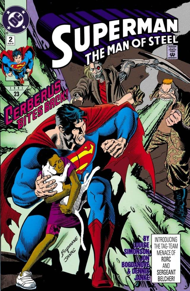 Superman: The Man of Steel (1991-2003) #2