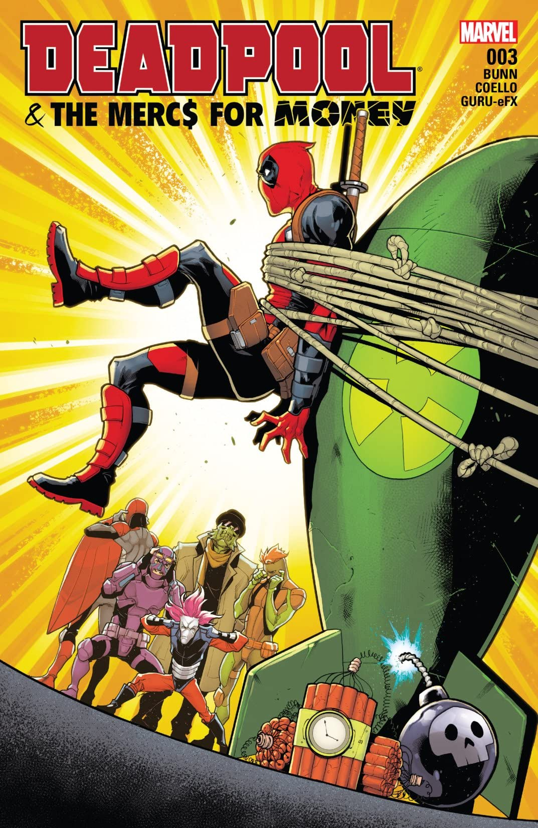 Deadpool & The Mercs For Money (2016-2017) #3