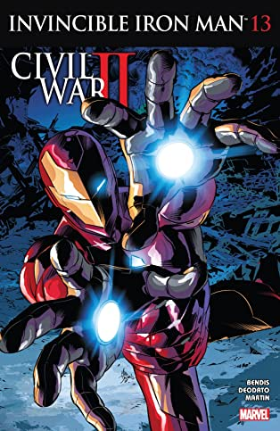 Invincible Iron Man (2015-2016) #13