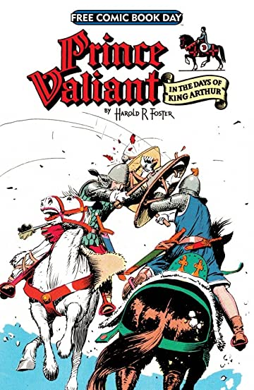 Prince Valiant Free Comic Book