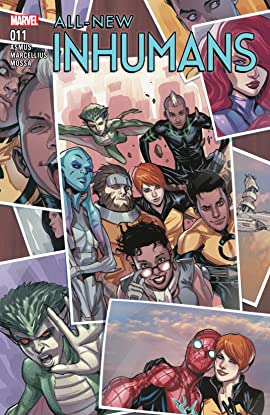 All-New Inhumans (2015-2016) #11