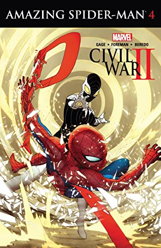 Civil War II: Amazing Spider-Man (2016) #4 (of 4)