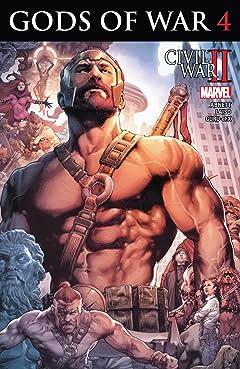 Civil War II: Gods of War (2016) #4 (of 4)