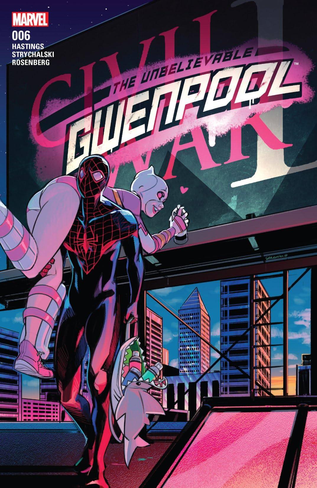 Gwenpool, The Unbelievable (2016-2018) #6 - Comics by comiXology: Web UK