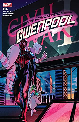 Gwenpool, The Unbelievable (2016-) #6
