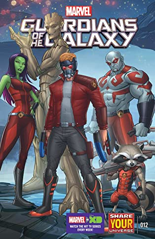 Marvel Universe Guardians of the Galaxy (2015-) #12