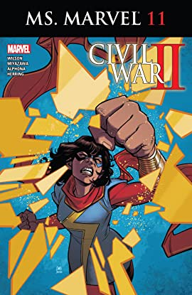 Ms. Marvel (2015-2019) #11
