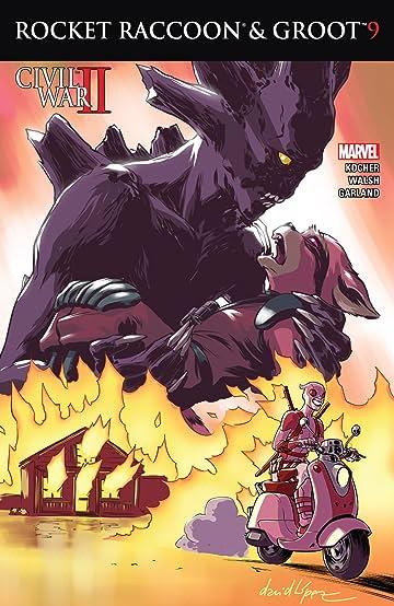 Rocket Raccoon and Groot (2016) #9